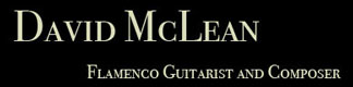 David McLean Flamenco Guitarist | Bay Area Spanish Guitar